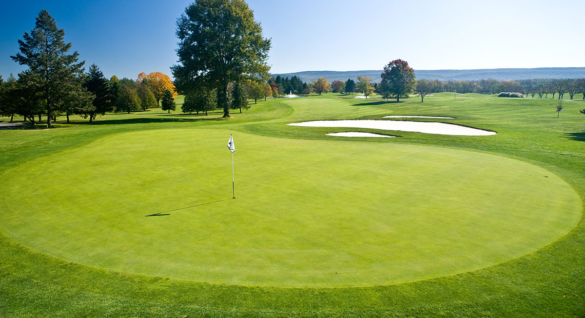 Experience Two Championship Golf Courses