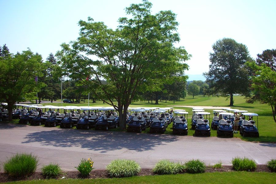 Blue Golf Course